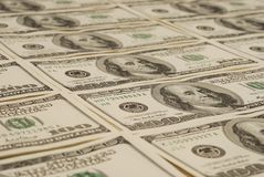 finansiella pengar USA för bakgrundsbegreppsdollar Arkivbild