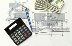 Finansiella plan Fotografering för Bildbyråer