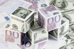 finansiella toys Fotografering för Bildbyråer