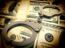Finansiellt bedrägeribegrepp Arkivbilder