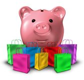 Finansiellt begrepp för konsumentskuld stock illustrationer
