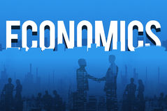 Finansiellt begrepp för tecken för ekonomitillgångdollar royaltyfri foto