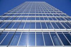 finansiellt byggnadsområde Royaltyfri Foto