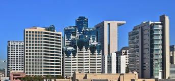 Finansiellt och bostads- område av San Diego Royaltyfri Foto