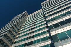 Finansiellt område i London, UK Royaltyfri Foto