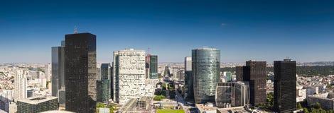 Finansiellt område, Laförsvar, Paris Arkivfoto