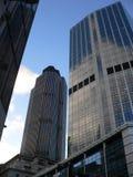 finansiellt stadsområde arkivfoto