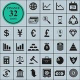 finansiera symboler Royaltyfri Fotografi