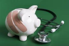 finansierar din hälsa Arkivfoto