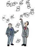 Finansieringgodkännande Arkivbild