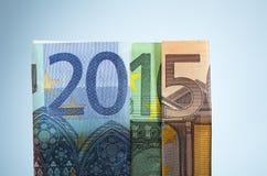 Finansieringsår 2015 Arkivbild