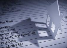 finansinstitut Arkivbild