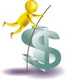 finansowa gra ilustracja wektor