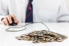 Finansowa kontrola zdjęcie royalty free