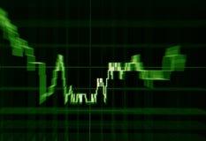 Finansowa mapa Zdjęcie Stock
