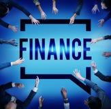 Finansowe ekonomie Rozlicza interesu pojęcie Fotografia Royalty Free