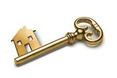 finansowego domu klucza własność Zdjęcia Stock