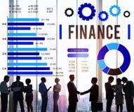 Finansowego gospodarka Inwestorskiego pieniądze Pieniężny pojęcie Obraz Royalty Free
