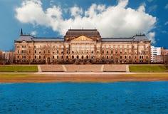 finansowy Dresden ministerstwo zdjęcie stock