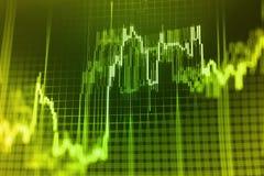 Finansowy giełdy papierów wartościowych tło Zdjęcie Stock