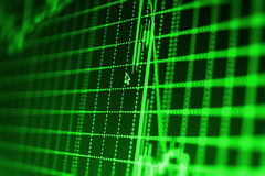 Finansowy giełdy papierów wartościowych tło Fotografia Stock