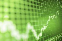 Finansowy giełdy papierów wartościowych tło Zdjęcie Royalty Free