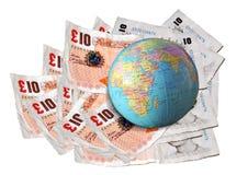finansowy globalny Obraz Royalty Free