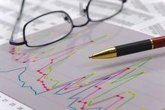 Finansowy i budżet obliczenie obrazy stock