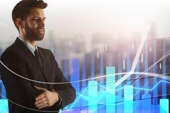 Finansowy i Inwestorski pojęcie zdjęcie royalty free
