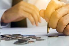 Finansowy Inwestorski pojęcie fotografia stock