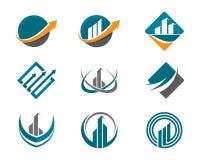 Finansowy logo Obraz Royalty Free