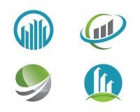 Finansowy logo Fotografia Royalty Free