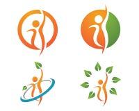 Finansowy logo Zdjęcia Royalty Free