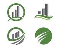 Finansowy logo Obrazy Stock