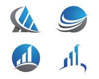 Finansowy logo Zdjęcia Stock