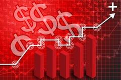 Finansowy technologii tło 4 Fotografia Royalty Free