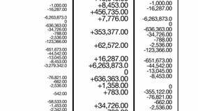 Finansowych grafika Mono pętla royalty ilustracja