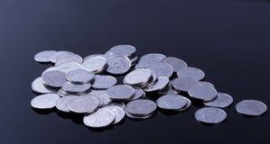 Finansreflexion och affärsvinst Arkivbild