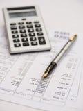 Finanzüberprüfung. lizenzfreie abbildung