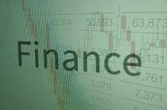 finanza Fotografia Stock