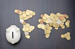 Finanza internazionale Fotografia Stock Libera da Diritti