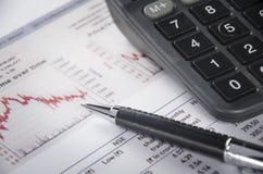 Finanzabbildung Lizenzfreies Stockbild