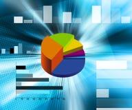 Finanzabbildung stock abbildung