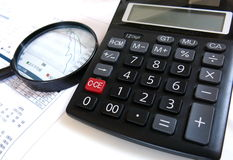 Finanzanalyse Lizenzfreies Stockfoto