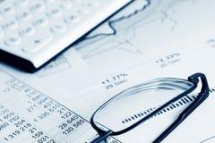 Finanzarbeiten. lizenzfreie stockfotos