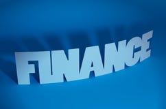 Finanzas Foto de archivo libre de regalías