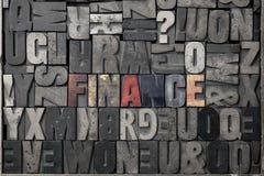 Finanzas Fotografía de archivo
