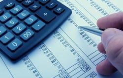 finanzas Imagen de archivo