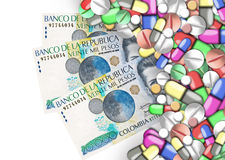 Finanzas de la atención sanitaria Fotos de archivo libres de regalías