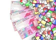Finanzas de la atención sanitaria Fotografía de archivo